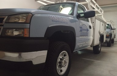 Fleet Trucks Vinyl Wrap